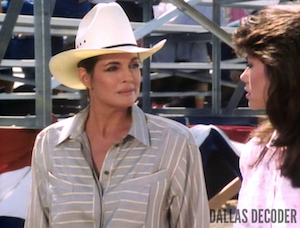 Dallas, Linda Gray, Mandy Winger, Deborah Shelton, Sue Ellen Ewing