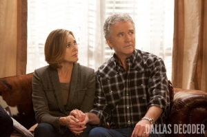 Ann Ewing, Bobby Ewing, Brenda Strong, Dallas, Patrick Duffy, TNT, Trial and Error