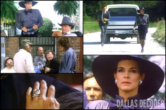 Dallas, Dusty Farlow, Family Ewing, Jared Martin, J.R. Ewing, Larry Hagman, Linda Gray, Rock Bottom, Sue Ellen Ewing
