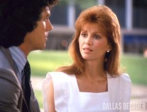 Bobby Ewing, Dallas, Letter, Pam Ewing, Patrick Duffy, Victoria Principal