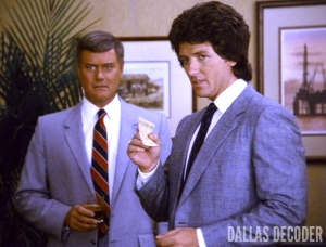 Bobby Ewing, Check and Mate, Dallas, J.R. Ewing, Larry Hagman, Patrick Duffy
