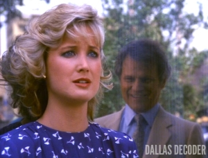 Cliff Barnes, Dallas, Debbie Rennard, Ken Kercheval, Sly Lovegren