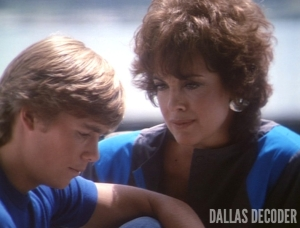 Christopher Atkins, Dallas, Linda Gray, Morning After, Peter Richards, Sue Ellen Ewing