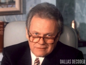 Dallas, Cliff Barnes, Ken Kercheval, Tunnel of Love