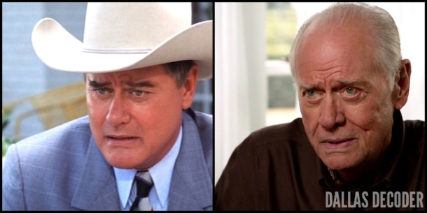 Battle Lines, Dallas, False Confessions, J.R. Ewing, Larry Hagman