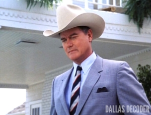 Battle Lines, Dallas, J.R. Ewing, Larry Hagman
