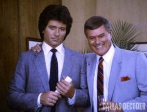 Bobby Ewing, Check and Mate, J.R. Ewing, Larry Hagman, Patrick Duffy