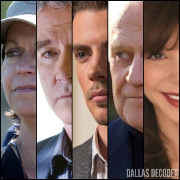 Cynthia Cidre, Josh Henderson, Ken Kercheval, Patrick Duffy, TNT, Victoria Principal
