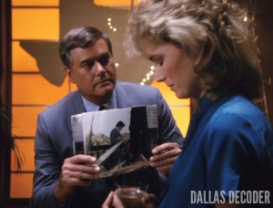 Dallas, Debbie Rennard, J.R. Ewing, Larry Hagman, Sly Lovegren, To Catch a Sly