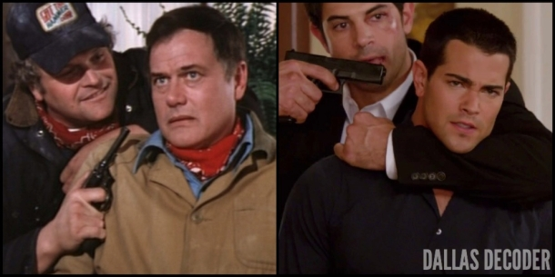 Blame Game, Christopher Ewing, Dallas, Jesse Metcalfe, J.R. Ewing, Larry Hagman, TNT, Winds of Vengeance
