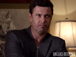 Blame Game, Carlos Bernard, Dallas, TNT, Vicente Cano