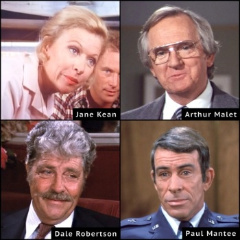 Arthur Malet, Dale Robertson, Dallas, Jane Kean, Paul Mantee