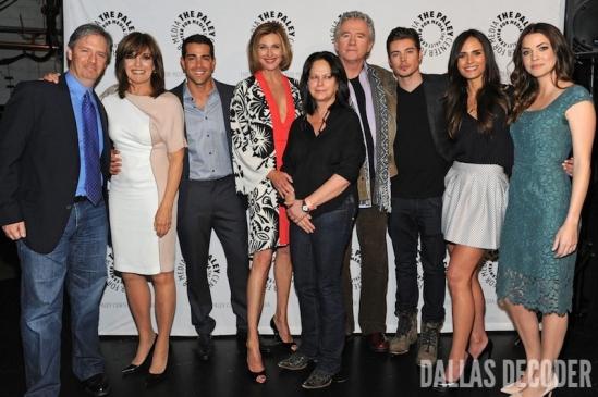 Brenda Strong, Cynthia Cidre, Dallas, Jesse Metcalfe, Jordana Brewster, Josh Henderson, Julie Gonzalo, Linda Gray, Michael M. Robin, Patrick Duffy
