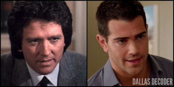 Bobby Ewing, Christopher Ewing, Crash of 83, Dallas, Ewings Unite, Jesse Metcalfe, Patrick Duffy