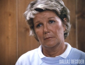 Barbara Bel Geddes, Dallas, Miss Ellie Ewing, Peter's Principles