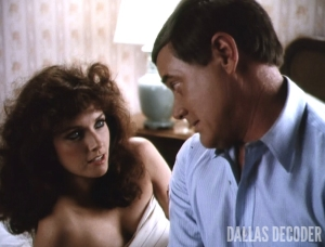 Dallas, J.R. Ewing, Katherine Wentworth, Larry Hagman, Morgan Brittany, Some Do ... Some Don't