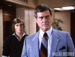 Christopher Atkins, Dallas, J.R. Ewing, Larry Hagman, Peter Richards, Where is Poppa?