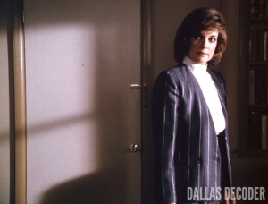 Dallas, Linda Gray, Sue Ellen Ewing, When the Bough Breaks