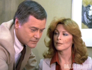 Dallas, J.R. Ewing, Julie Grey, Larry Hagman, Tina Louise