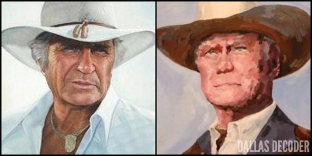 Dallas, Jim Davis, Jock Ewing, J.R. Ewing, Larry Hagman