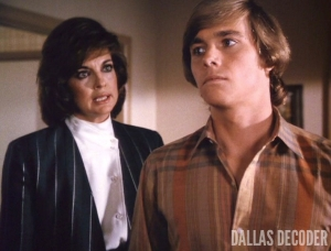 Christopher Atkins, Dallas, Linda Gray, Peter Richards, Sue Ellen Ewing, When the Bough Breaks