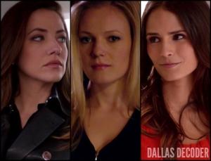 Dallas, Elena Ramos, Emma Bell, Emma Ryland, Jordana Brewster, Julie Gonzalo, Pamela Rebecca Barnes Ewing, TNT