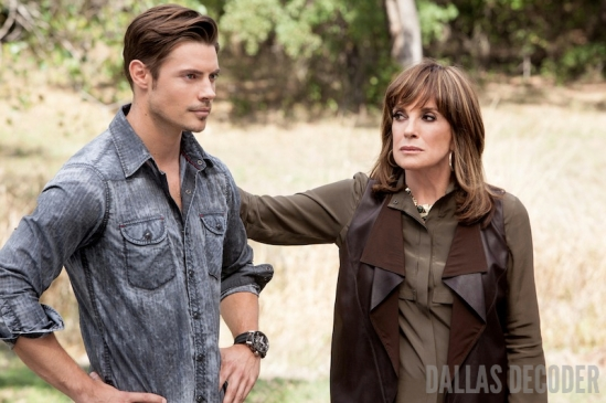 Dallas, John Ross Ewing, Josh Henderson, Linda Gray, Return, Sue Ellen Ewing, TNT