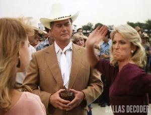 Dallas, Fern Fitzgerald, Jamie Ewing, Jenilee Harrison, J.R. Ewing, Marilee Stone