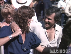 Cliff Barnes, Dallas, Ken Kercheval, Linda Gray, Sue Ellen Ewing