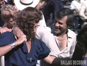 Cliff Barnes, Dallas, Ken Kercheval, Linda Gray, Sue Ellen Ewing