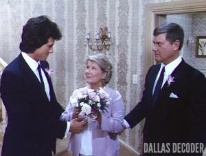 Barbara Bel Geddes, Bobby Ewing, Dallas, J.R. Ewing, Larry Hagman, Miss Ellie Ewing, Patrick Duffy