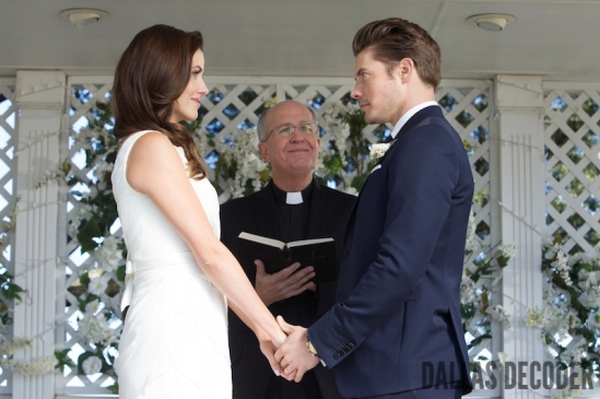 Dallas, John Ross Ewing, Josh Henderson, Julie Gonzalo, Lifting the Veil, Pamela Rebecca Barnes Ewing, TNT