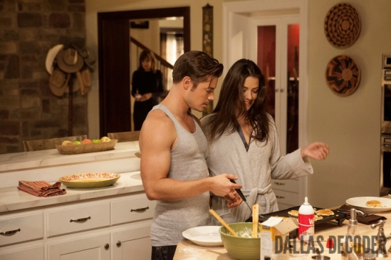 Dallas, John Ross Ewing, Josh Henderson, Julie Gonzalo, Pamela Rebecca Barnes Ewing, Playing Chicken, TNT