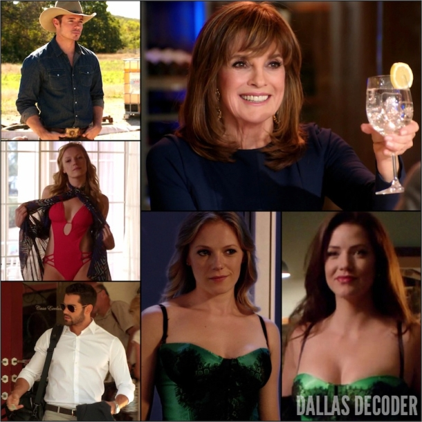 Christopher Ewing, Dallas, Emma Bell, Emma Ryland, Jesse Metcalfe, John Ross Ewing, Josh Henderson, Linda Gray, Playing Chicken, Sue Ellen Ewing, TNT