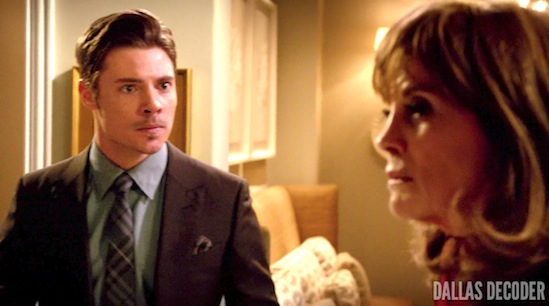Dallas, John Ross Ewing, Josh Henderson, Like Father Like Son, Linda Gray, Sue Ellen Ewing, TNT
