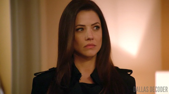 Dallas, Julie Gonzalo, Pamela Rebecca Barnes Ewing, TNT, Where There's Smoke