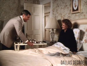 Alexis Smith, Dallas, Jessica Montfort, J.R. Ewing, Larry Hagman