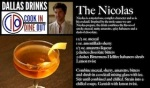 Dallas Drinks - The Nicolas featured image