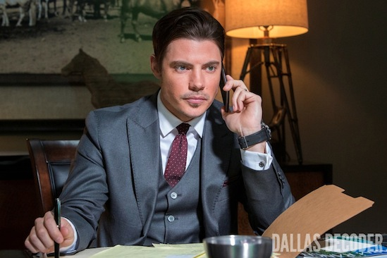 Dallas, John Ross Ewing, Josh Henderson, TNT, Where There's Smoke