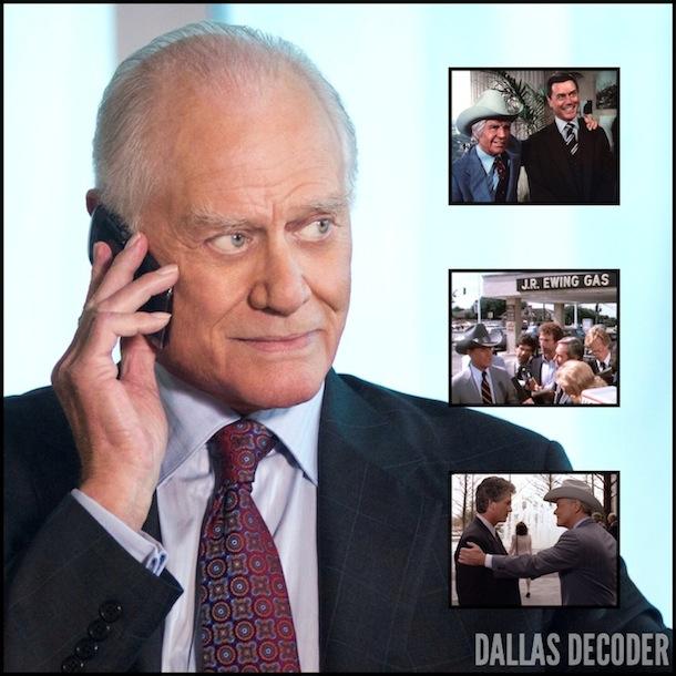 Bobby Ewing, Dallas, Jim Davis, Jock Ewing, J.R. Ewing, Larry Hagman, Patrick Duffy, TNT