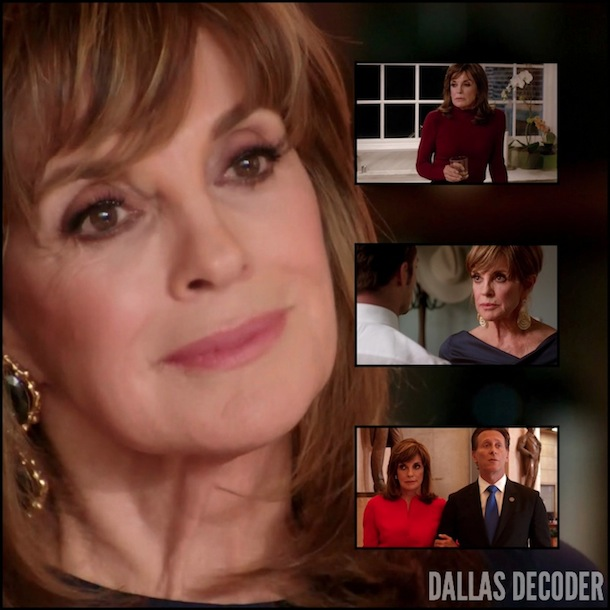 Dallas, Governor Sam McConaughey, Linda Gray, Steven Weber, Sue Ellen Ewing, TNT