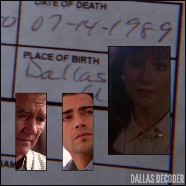 Bobby Ewing, Christopher Ewing, Dallas, Jesse Metcalfe, Margaret Michaels, Pam Ewing, Patrick Duffy, TNT