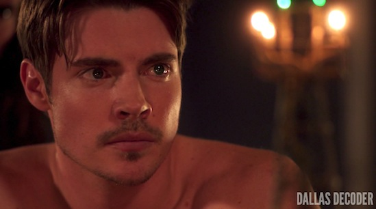 "Dallas, ""Changing of the Guard,"" John Ross Ewing, Josh Henderson, TNT"
