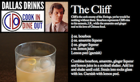 Dallas Drinks - The Cliff featured image