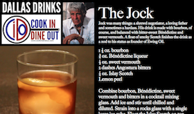 Dallas Drinks - The Jock featured image