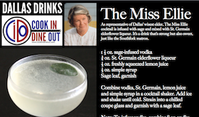 Dallas Drinks - The Miss Ellie featured image