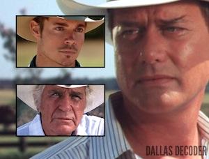 Dallas, Jim Davis, Jock Ewing, John Ross Ewing, Josh Henderson, J.R. Ewing, Larry Hagman, TNT