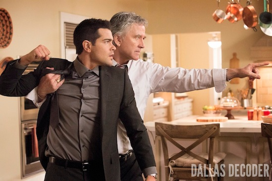 Bobby Ewing, Christopher Ewing, Dallas, Jesse Metcalfe, Patrick Duffy, TNT