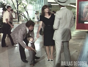 Dallas, John Ross Ewing, Linda Gray, Sue Ellen Ewing, Tyler Banks