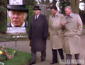 Bobby Ewing, Carter McKay, Dallas, George Kennedy, J.R. Ewing, Larry Hagman
